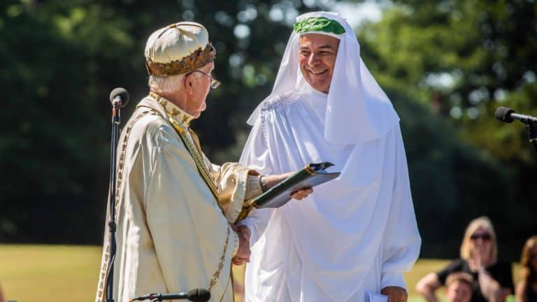 Myrddin ap Dafydd - Acrhdderwydd yr Orsedd