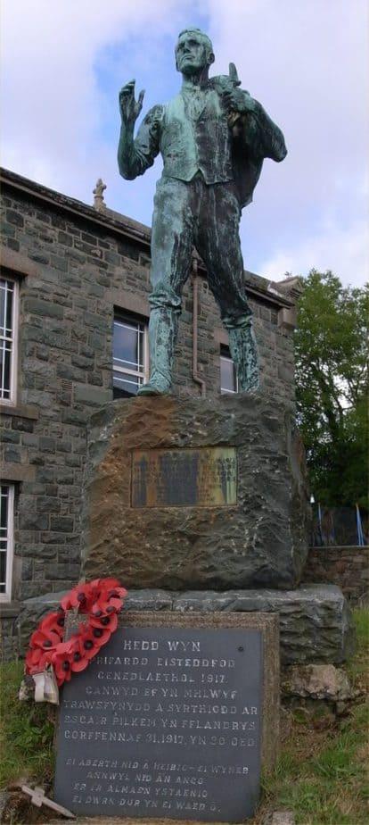 Cofeb Hedd Wyn - Trawsfynydd