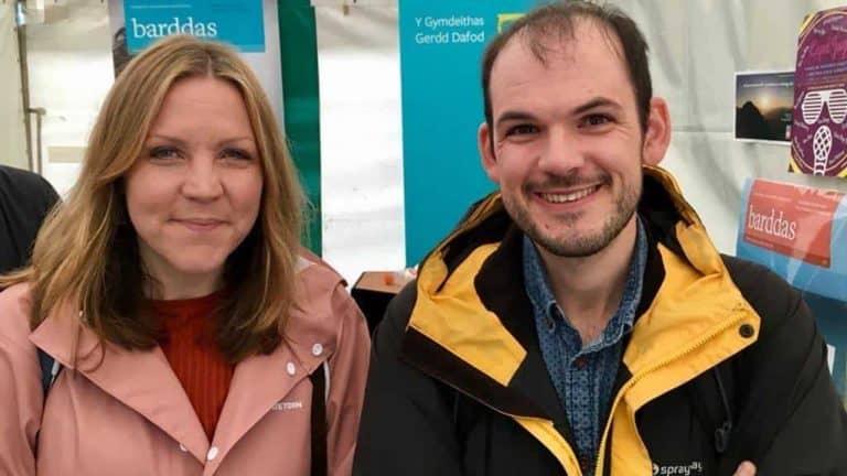 Gruffudd Owen a Catrin Dafydd