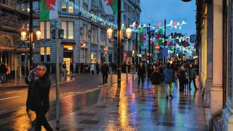 Heol y Santes Fair Caerdydd
