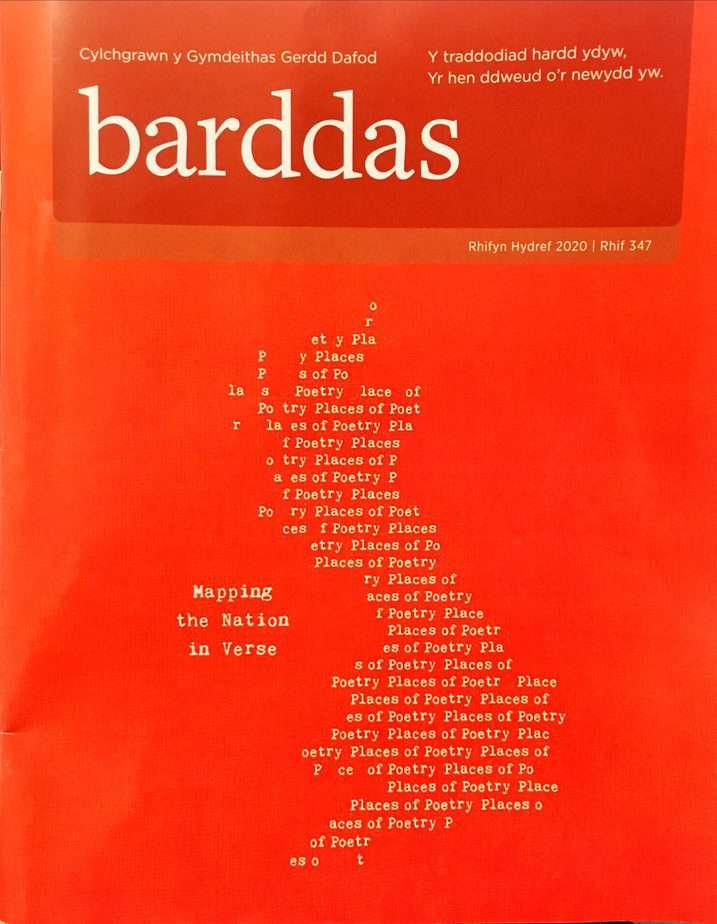 Clawr Cylchgrawn Barddas Rhifyn 347